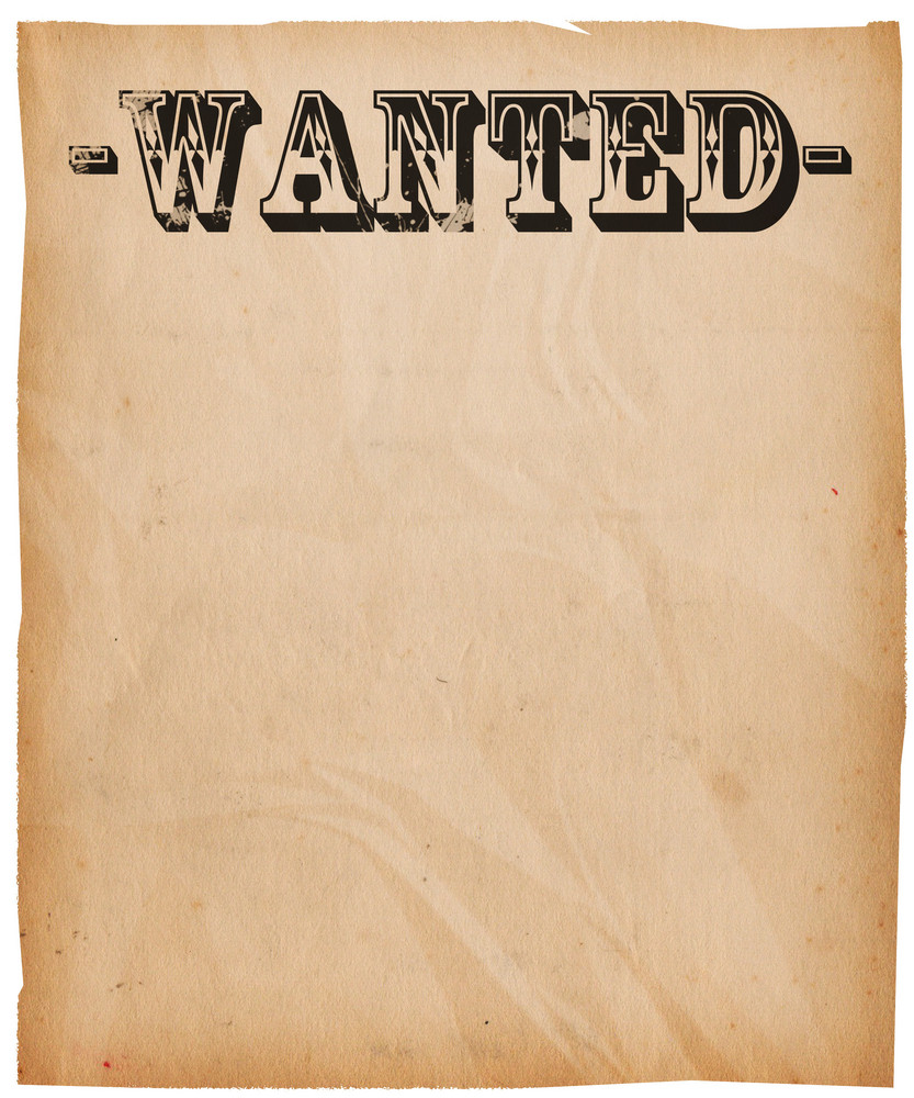 Vintage Wanted Poster Background Royalty-Free Stock Image ...