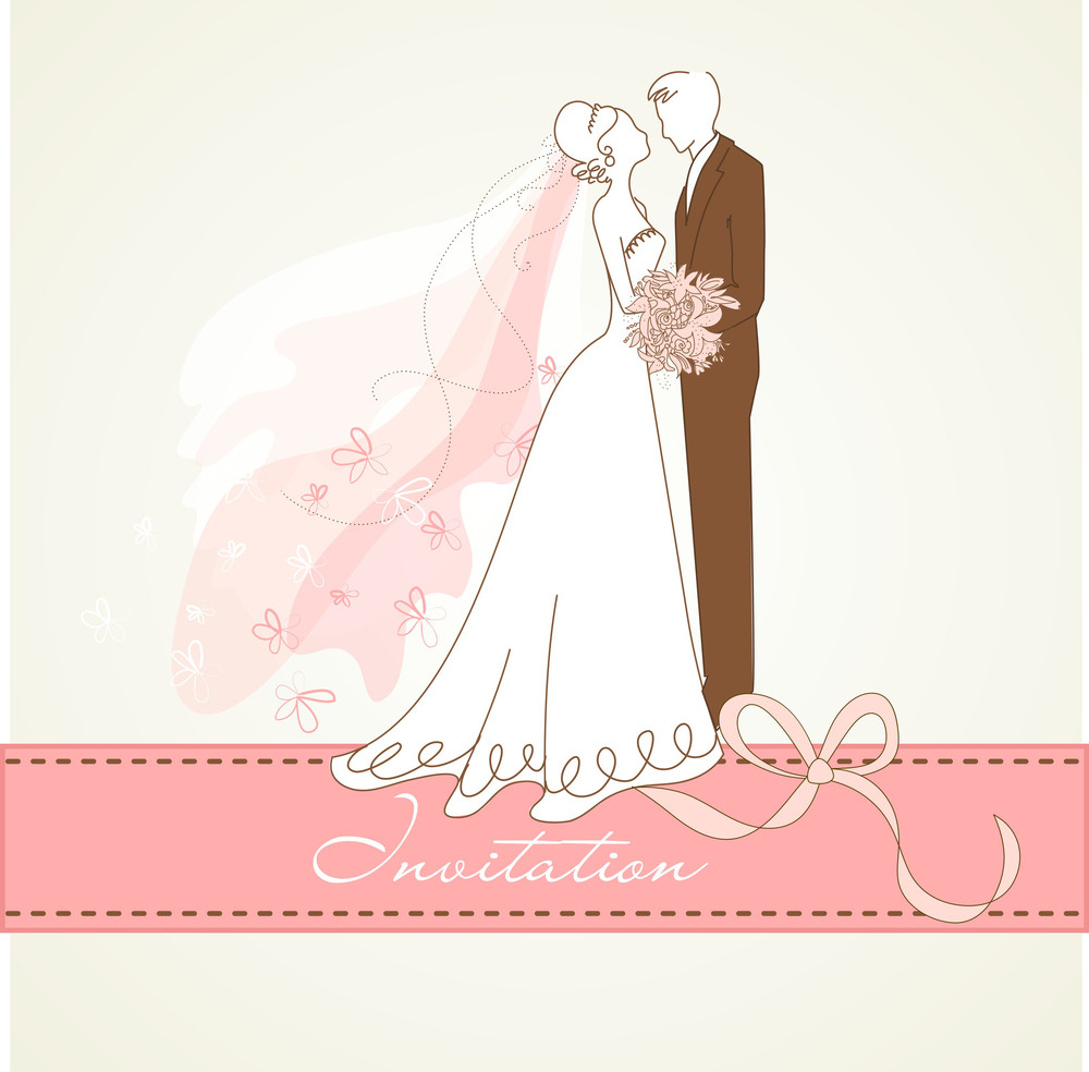 Vintage Wedding Background