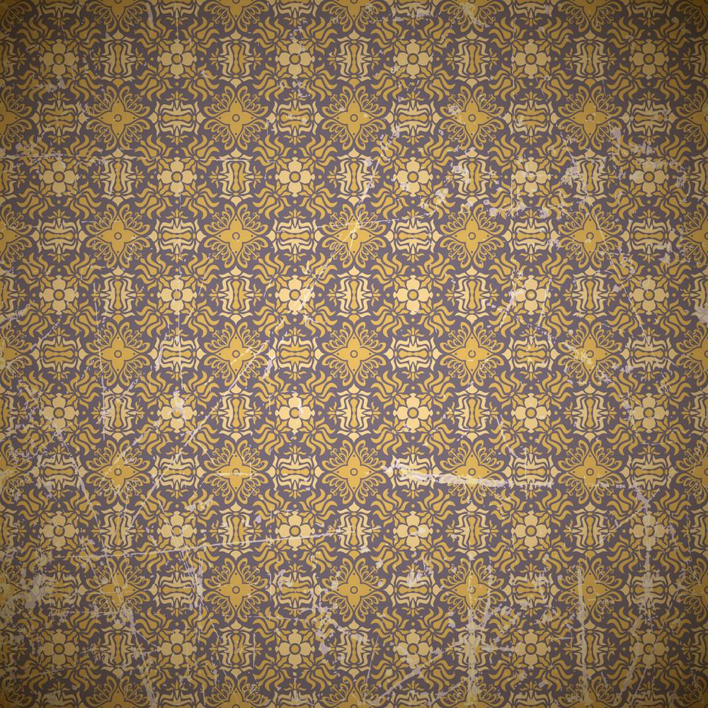 Vintaje Floral Background. Vector Illustration