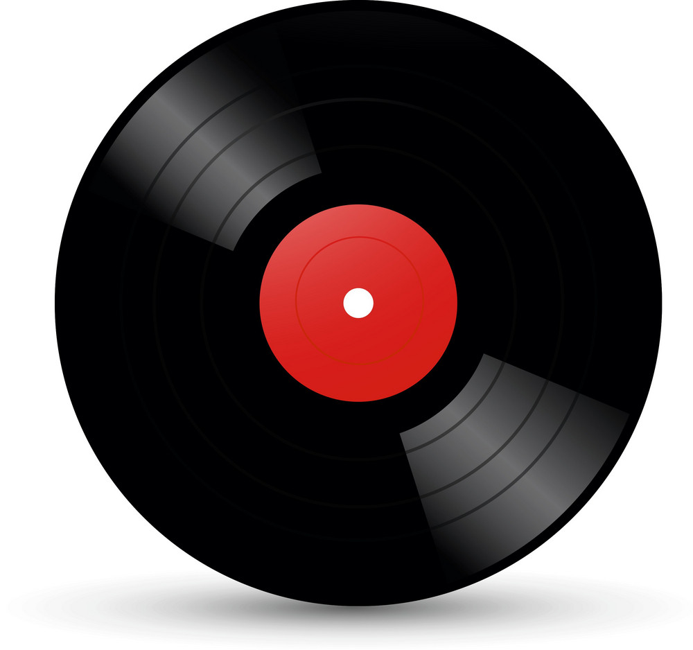 Vinyl Record Lite Music Icons