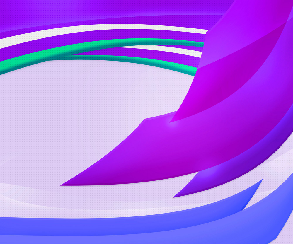 Violet Abstract Shapes Background