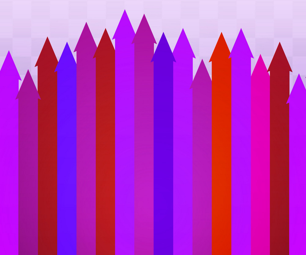 Violet Arrows Background