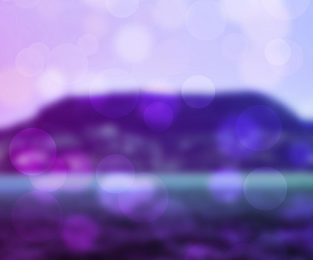 Violet Bokeh Background
