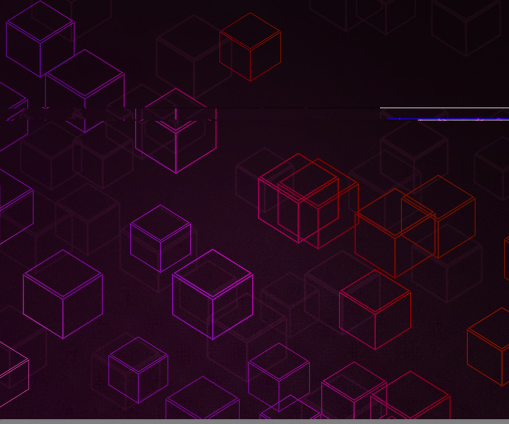 Violet Cubes Background