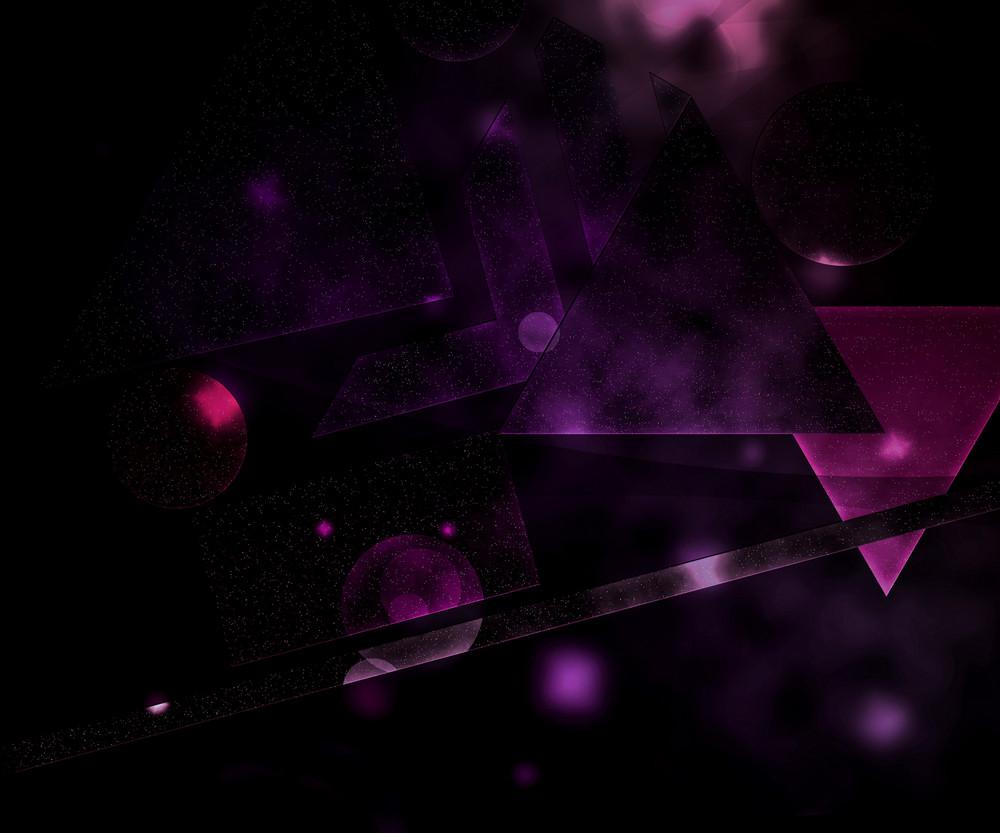 Violet Futuristic Background