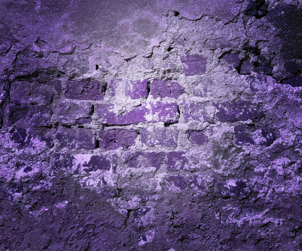 Violet Grunge Wall Texture