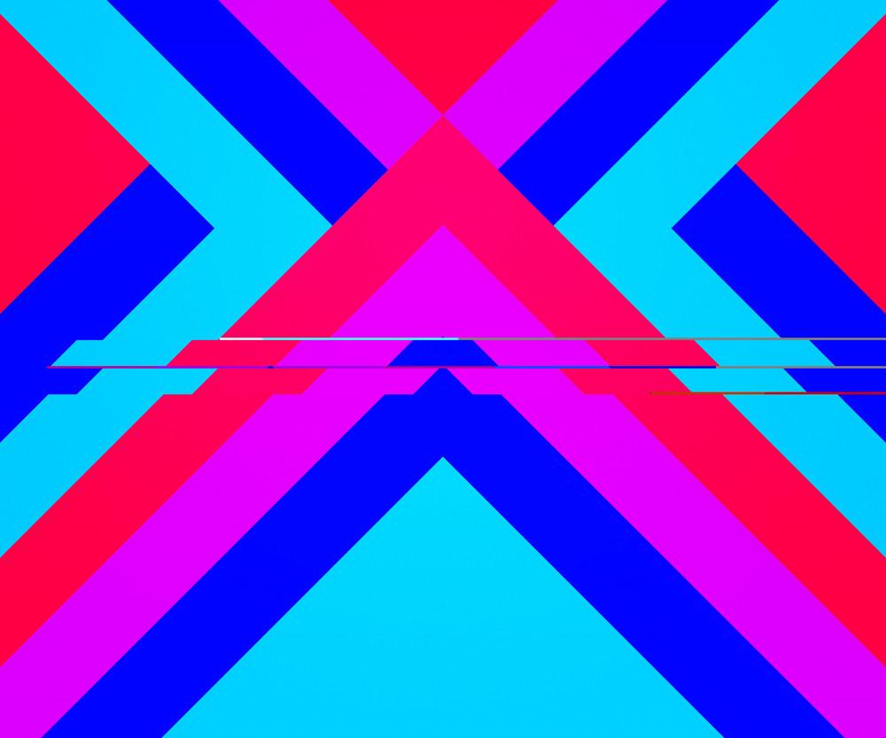 Violet Hipster Geometric Background