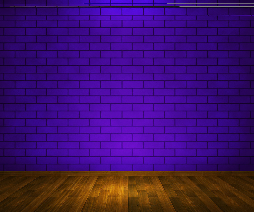 Violet Interior Brick Background