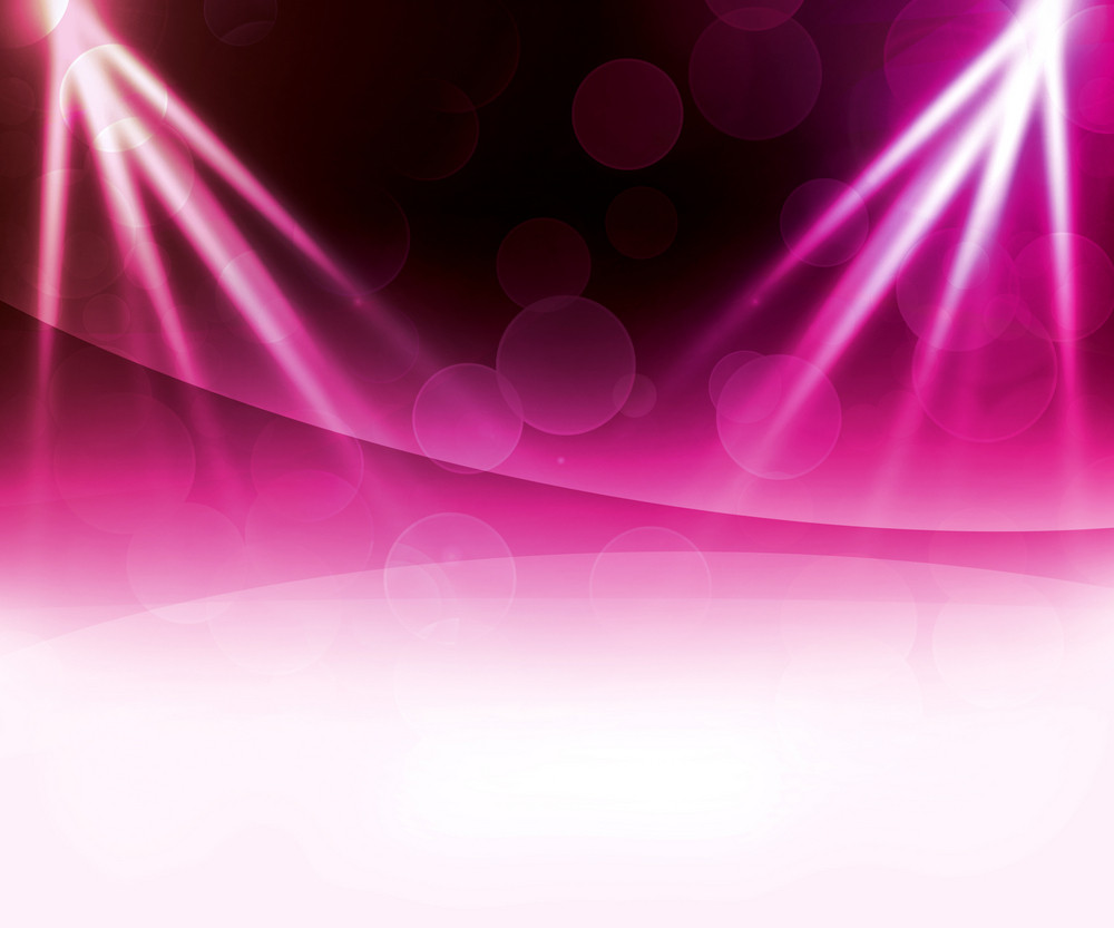 Violet Laser Abstract Background