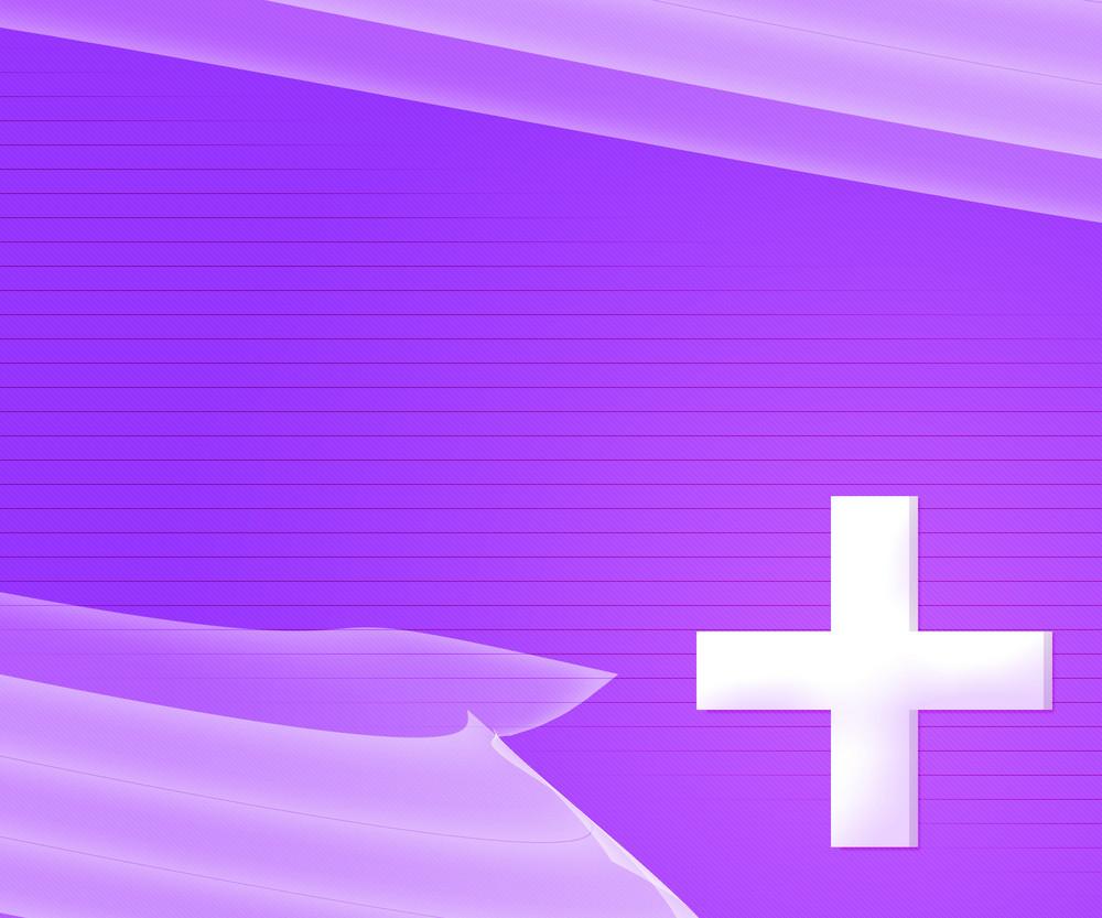 Violet Simple Medical Background