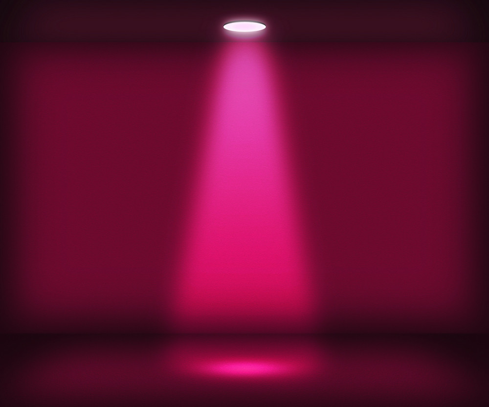 Violet Single Spotlight Room Background