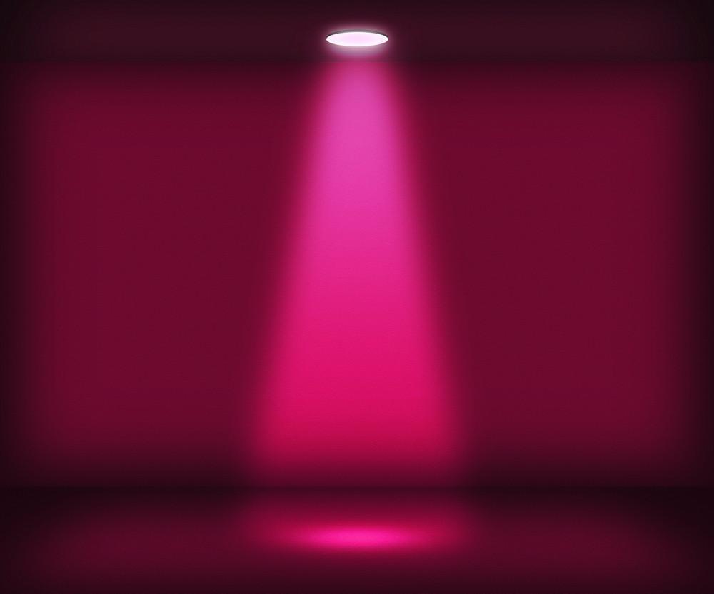 Violet Single Spotlight Room Background