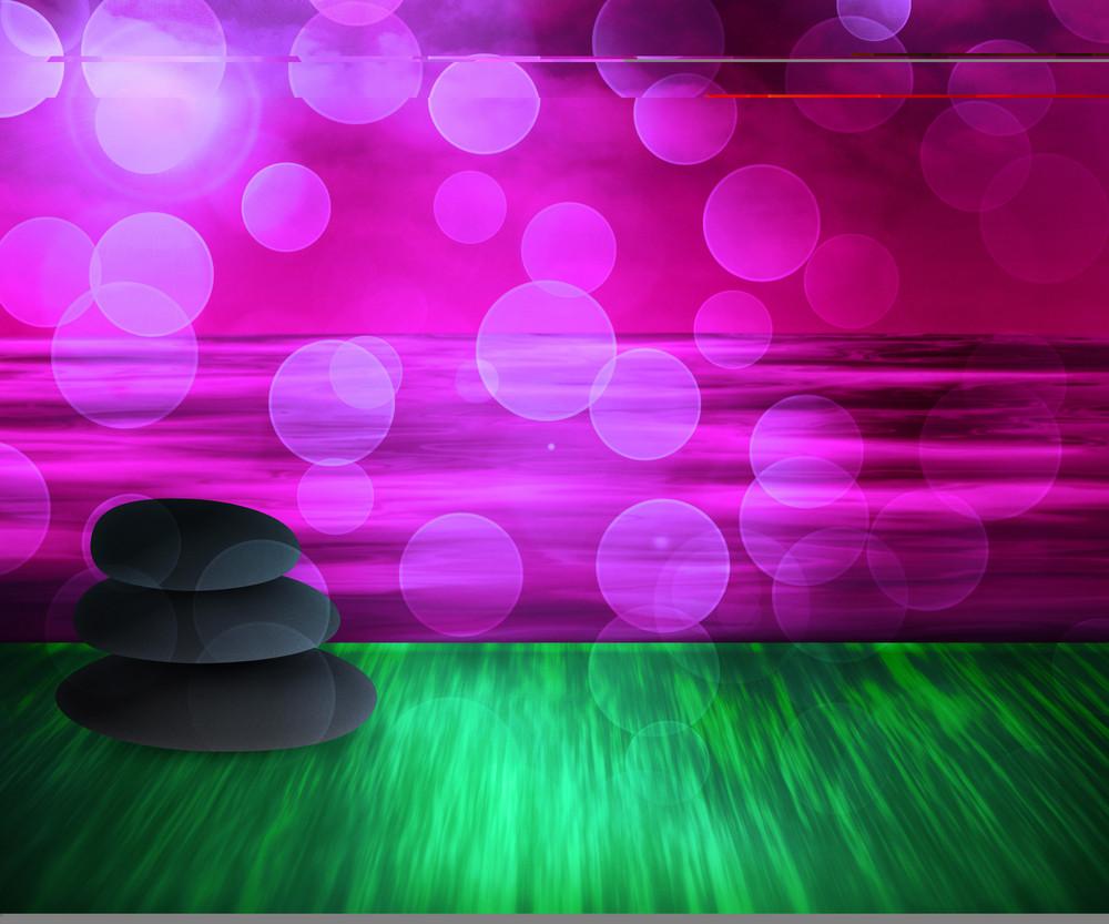 Violet Spa Background