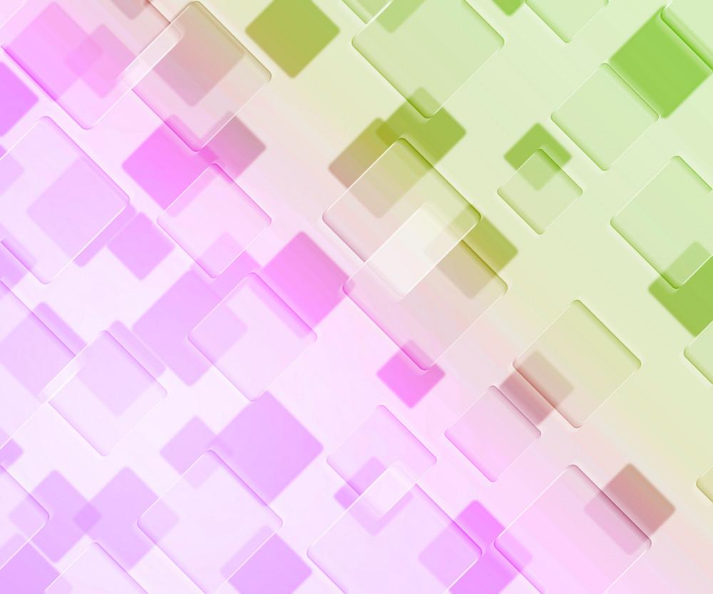 Violet Squares Background