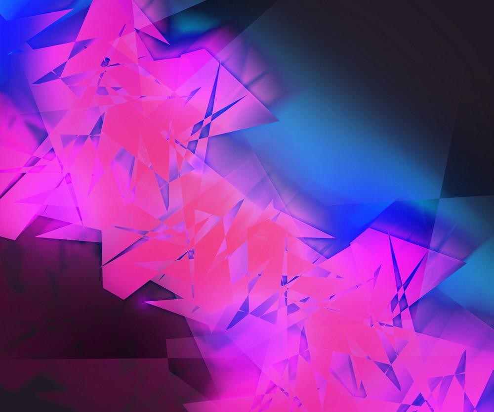 Violet Strange Abstract Background
