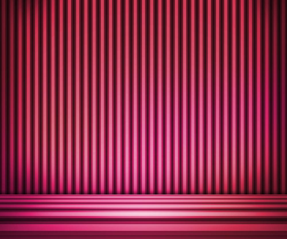 Violet Striped Background Show Room