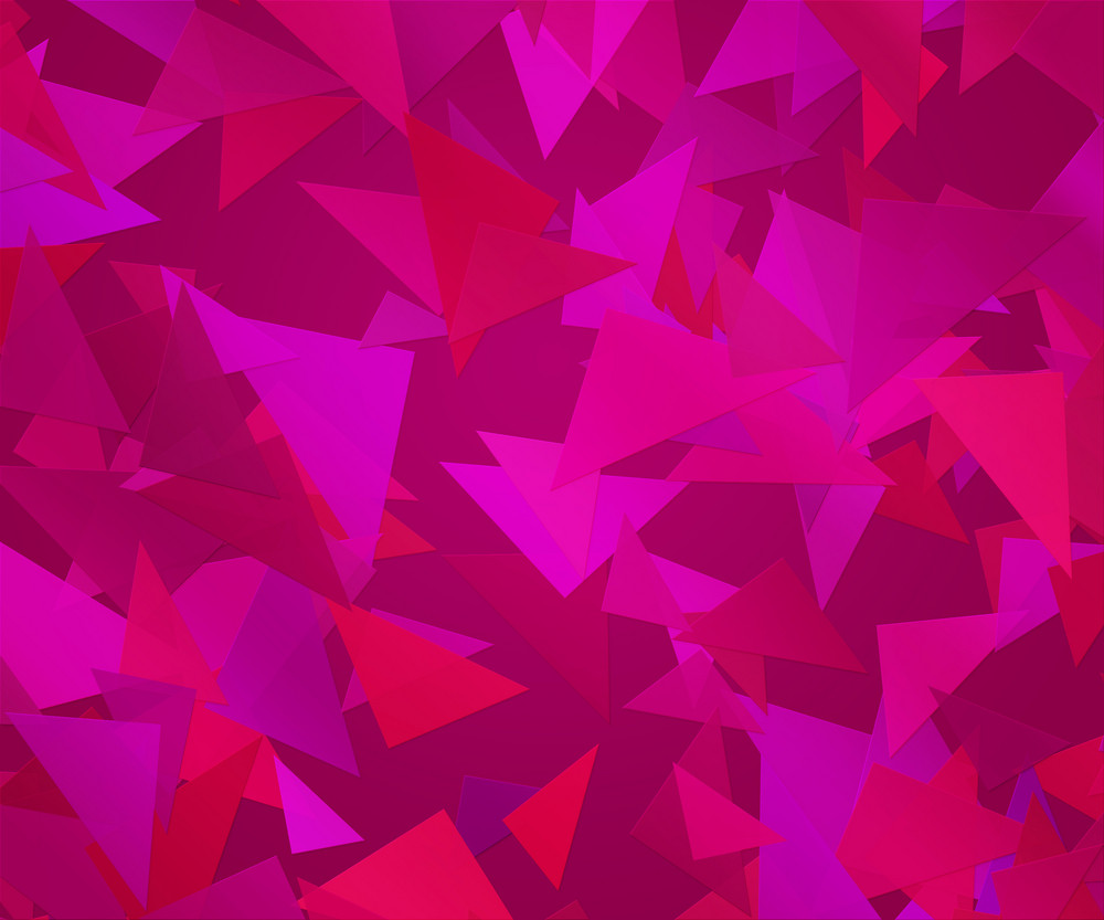 Violet Triangle Abstract Background