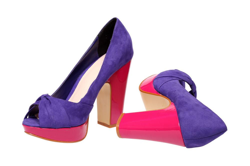 Violet Women S Heel Shoes