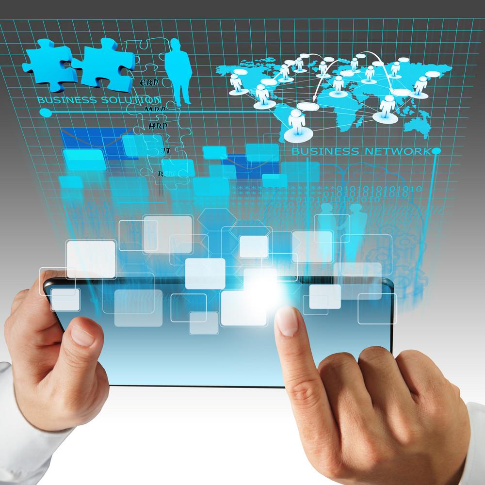 Virtual Business Network Process Diagram