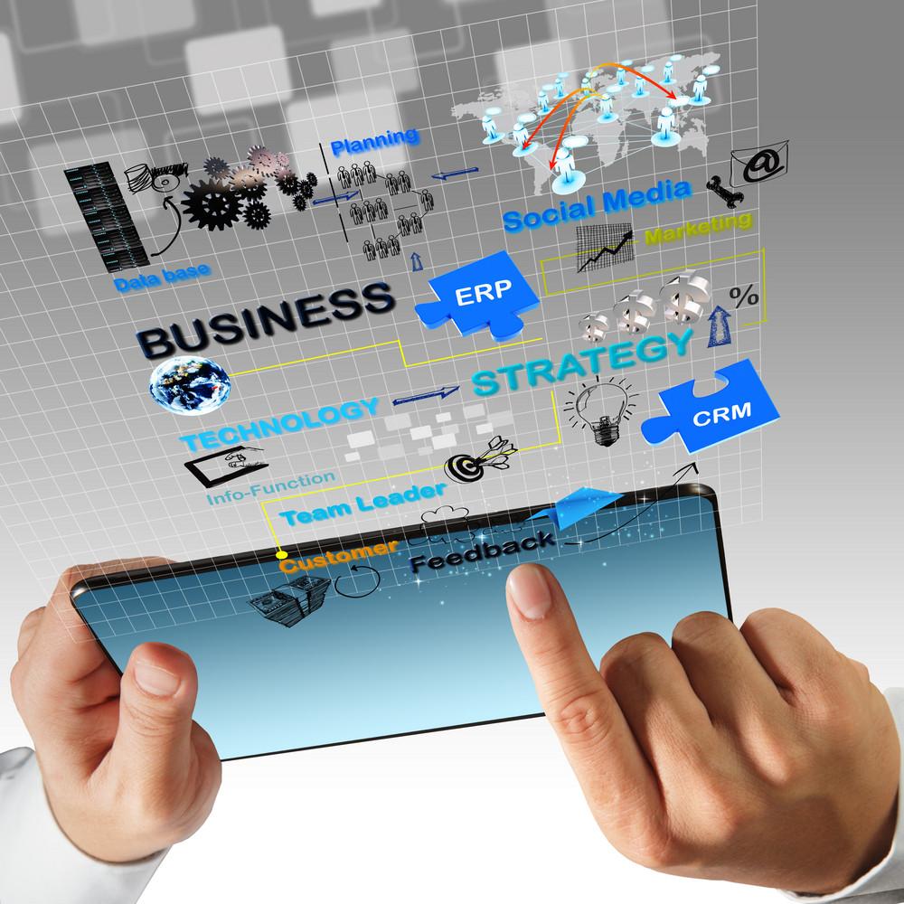 Virtual Business Process Diagram