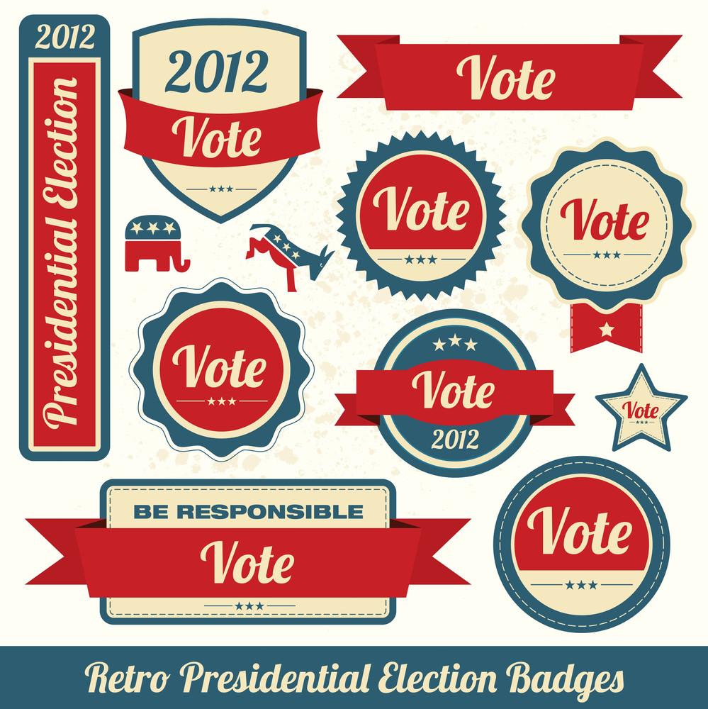 Vote - Us Presidential Election Design