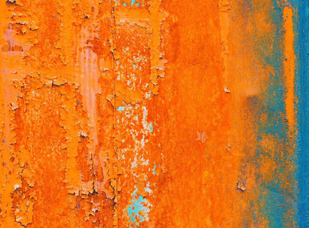 Rusty iron grunge background