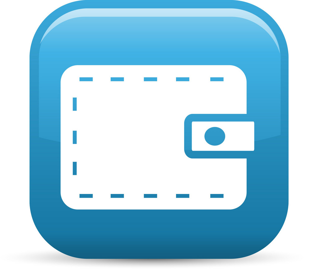 Wallet Elements Glossy Icon