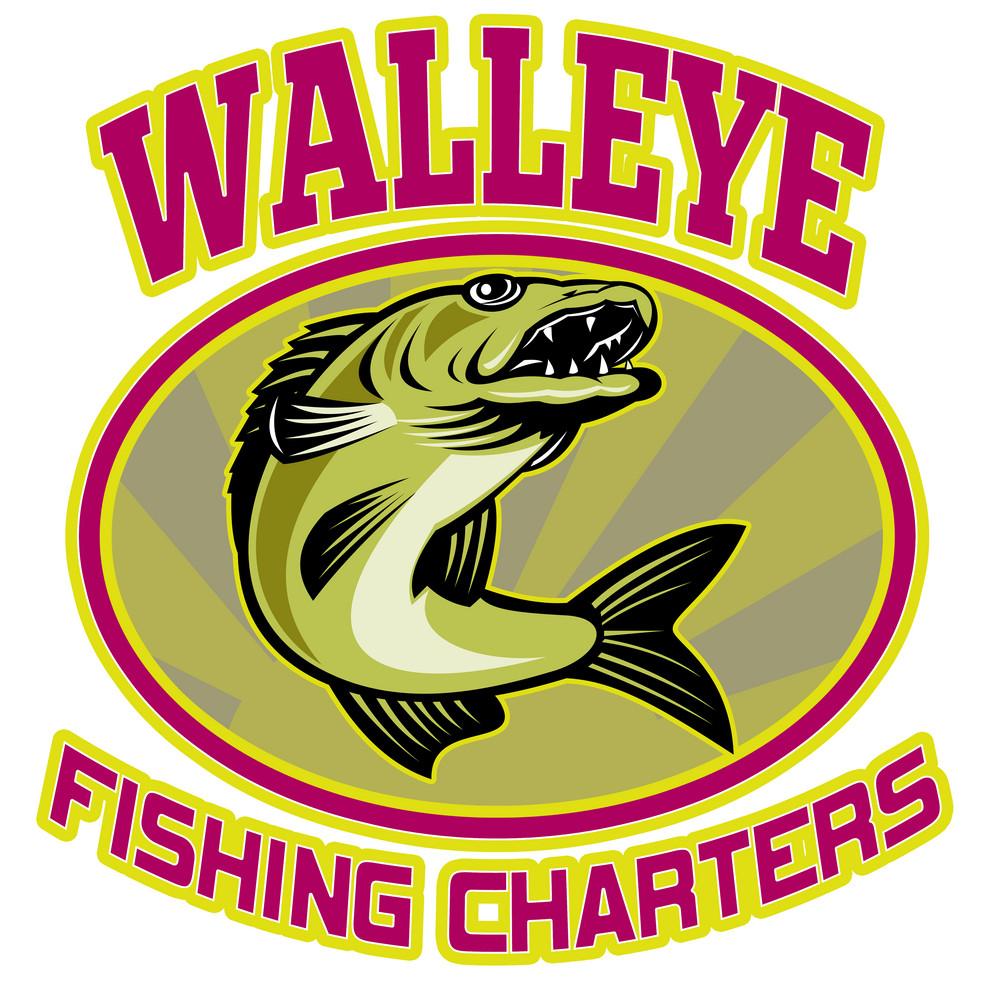 Walleye Fish Fishing Charters