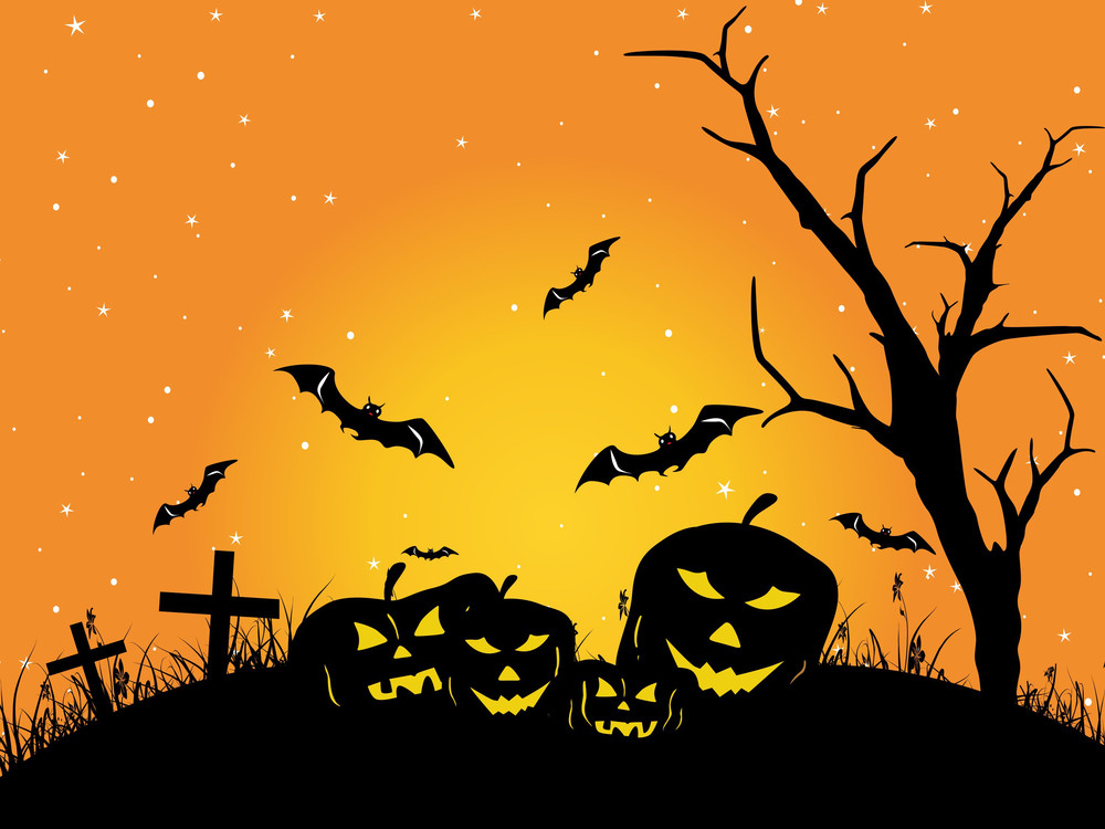 Wallpaper For Halloween Day Celebration