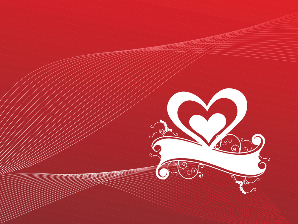 Wallpaper Heart And Text Field