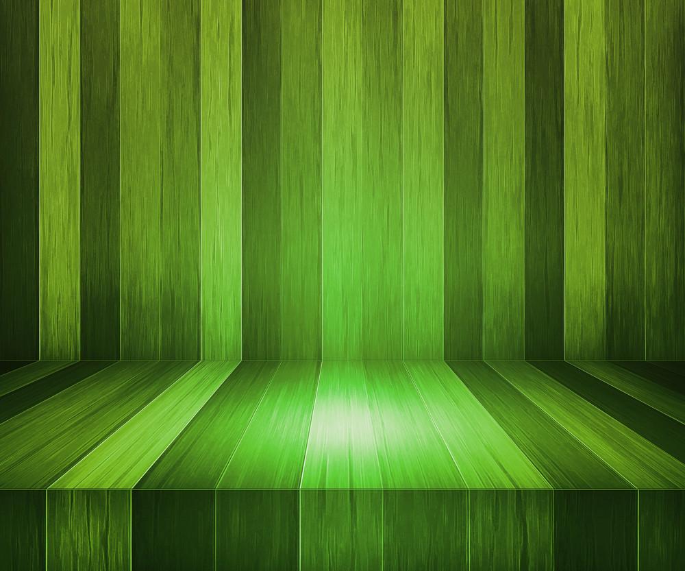 Walnut Wooden Stage Background
