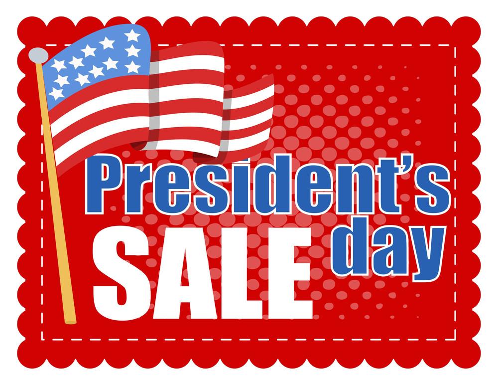Washington Birthday Sale Vector Coupon