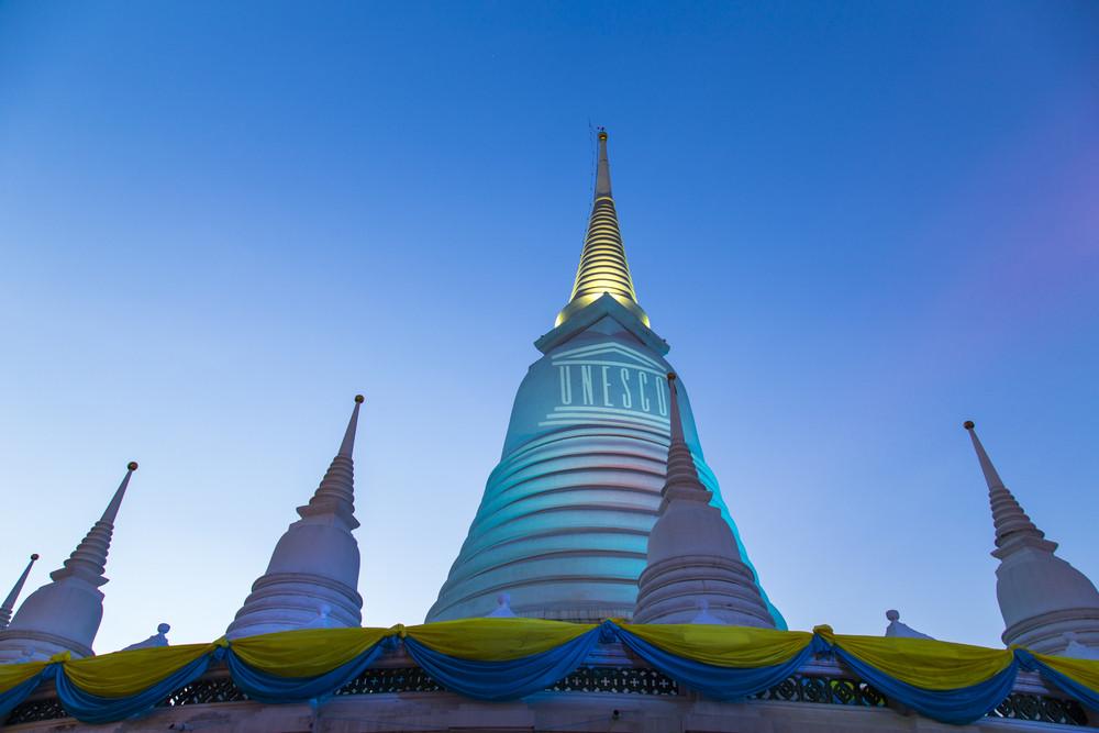 Wat Prayurawongsawas waraviharn Temple. Bangkok. Thailand