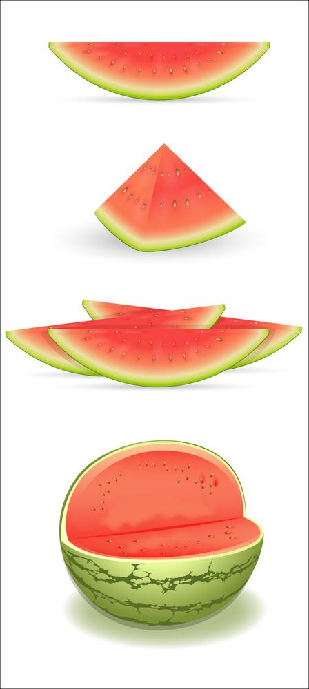 Watermelon Vectors