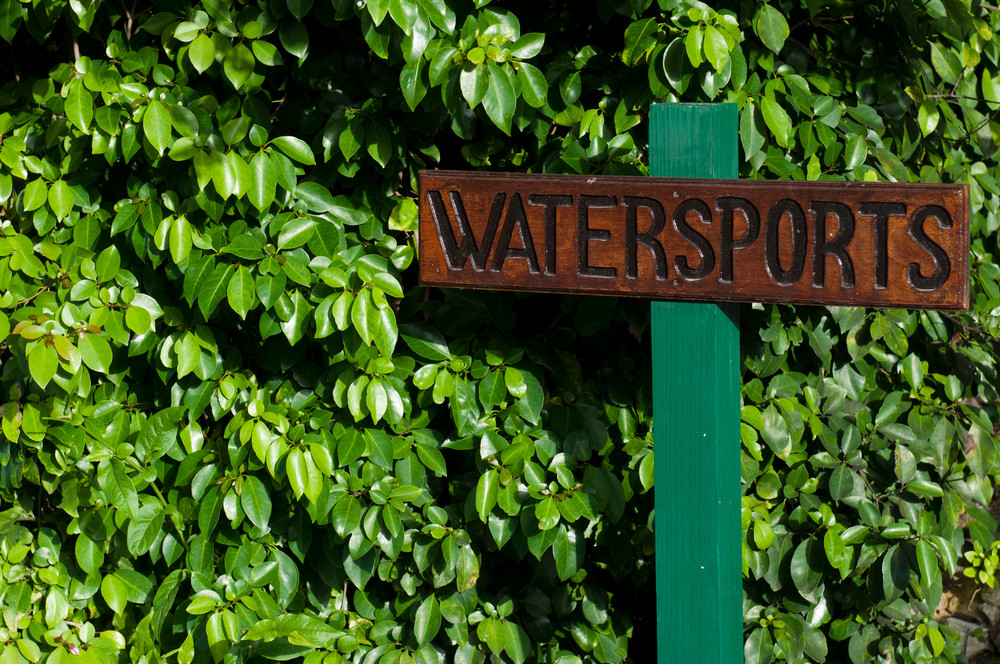Watersports Sign