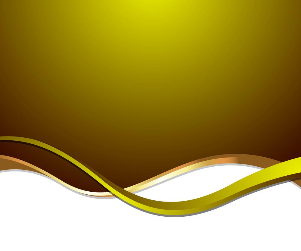 Wave Golden Template