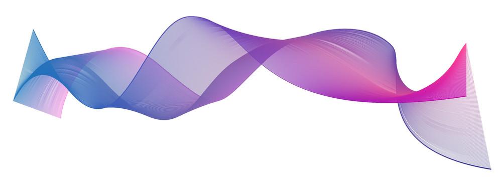 Wave Lines Design Vector