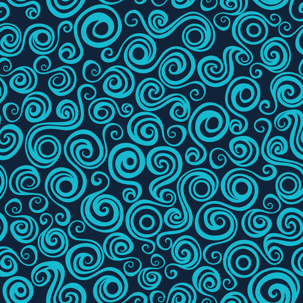 Wave Pattern (seamlessly Tiling). Seamless Wave Background.ocean ...