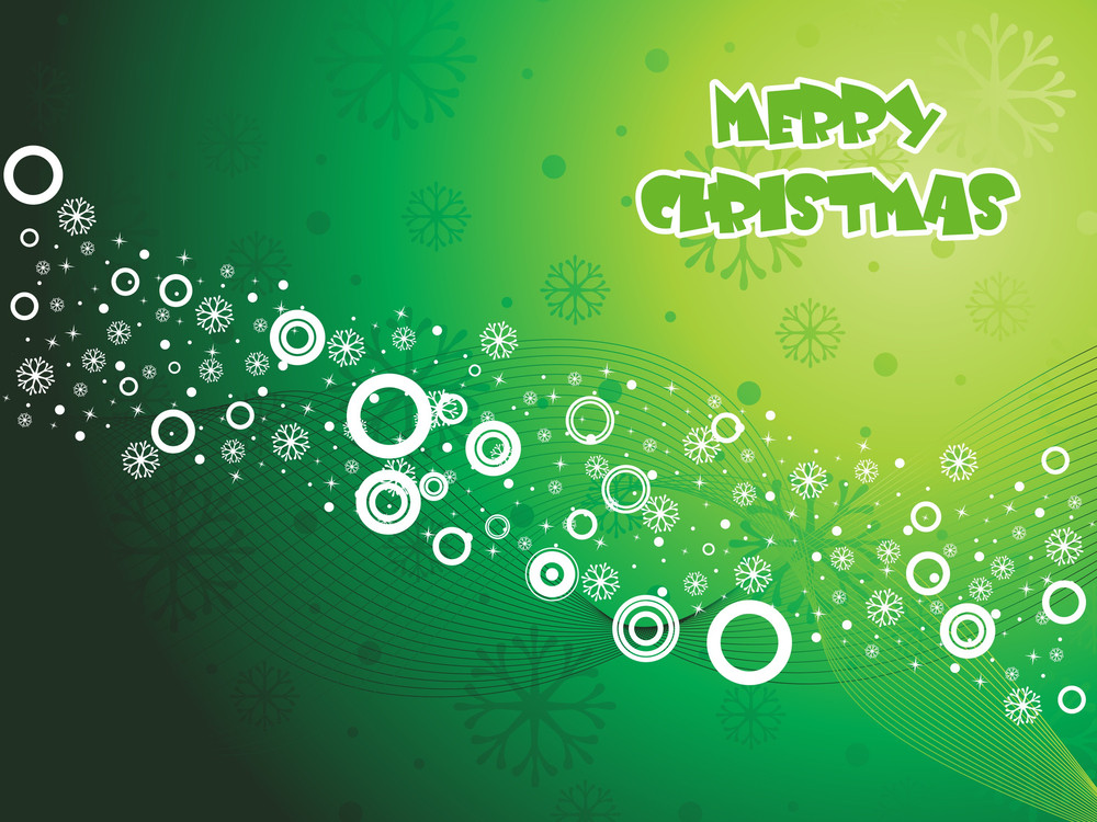 Wavy Background For Merry Christmas Day