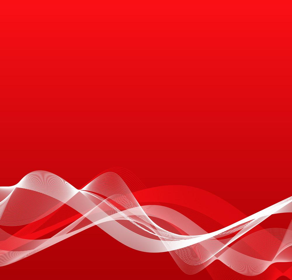 Wavy Blend Lines Background