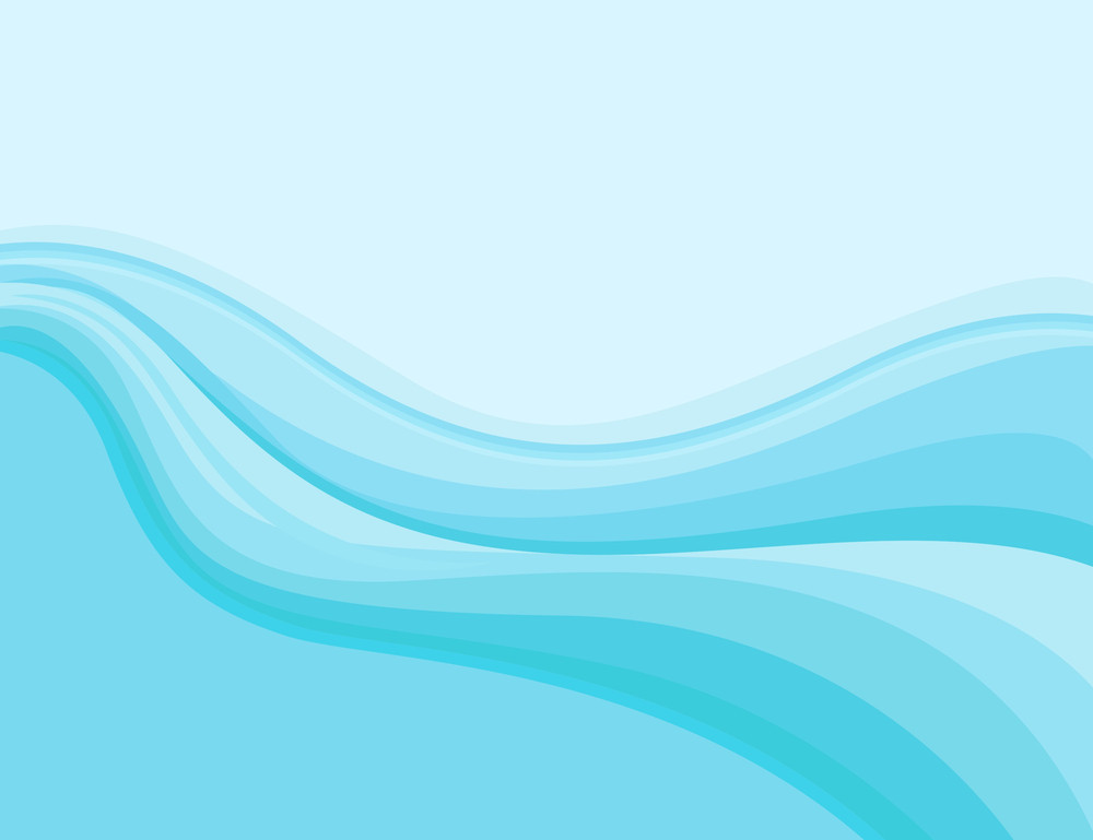 Wavy - Cartoon Background Vector