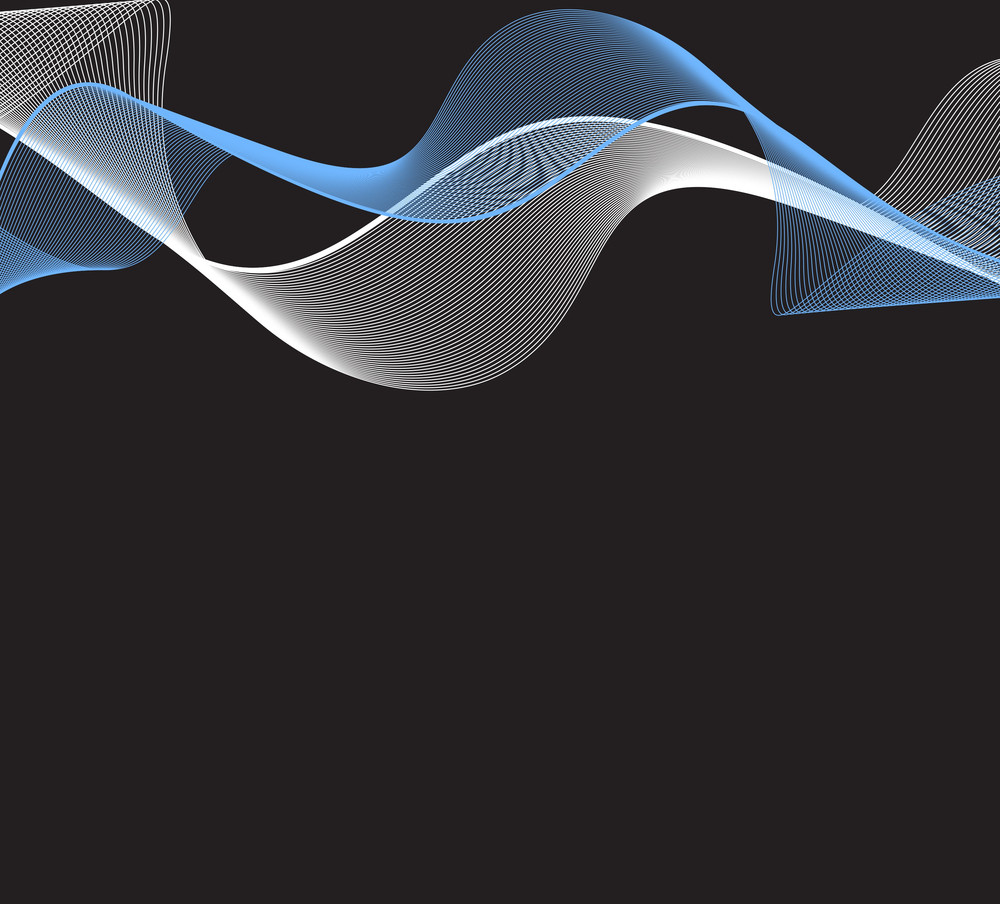 Wavy Lines Background