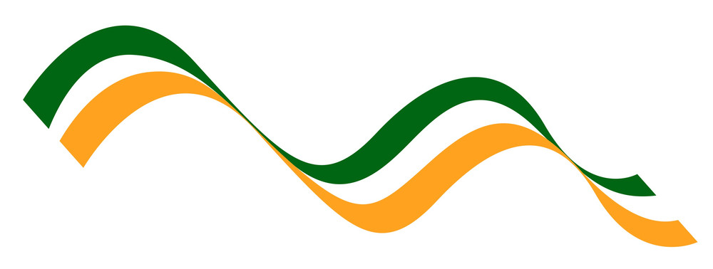 Wavy Patrick's Day Flag