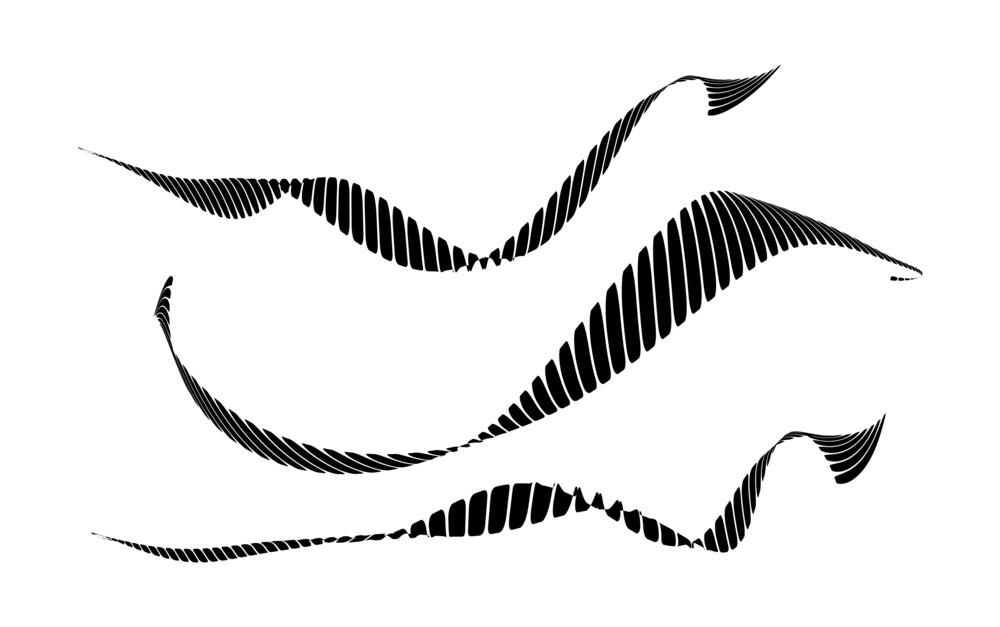 Wavy Striped Designs