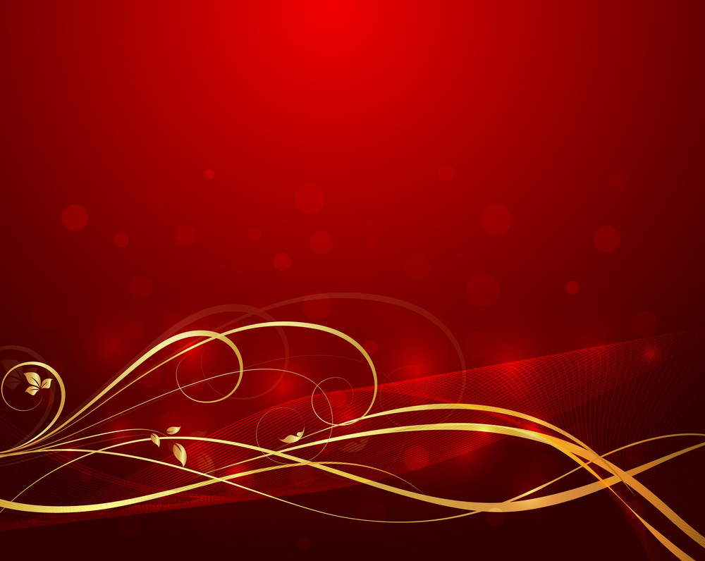 Wavy Swirl Bokeh Background