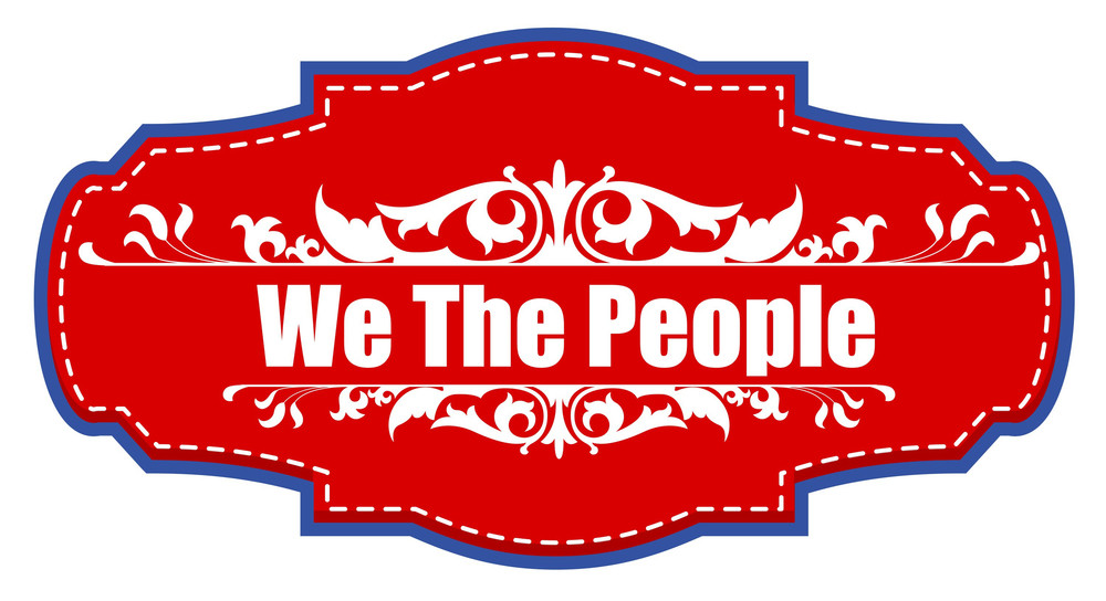 We The People Badge