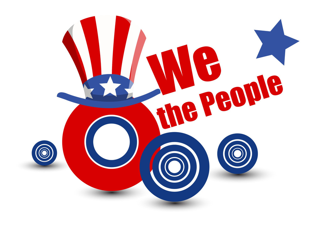 We The People Vector Design