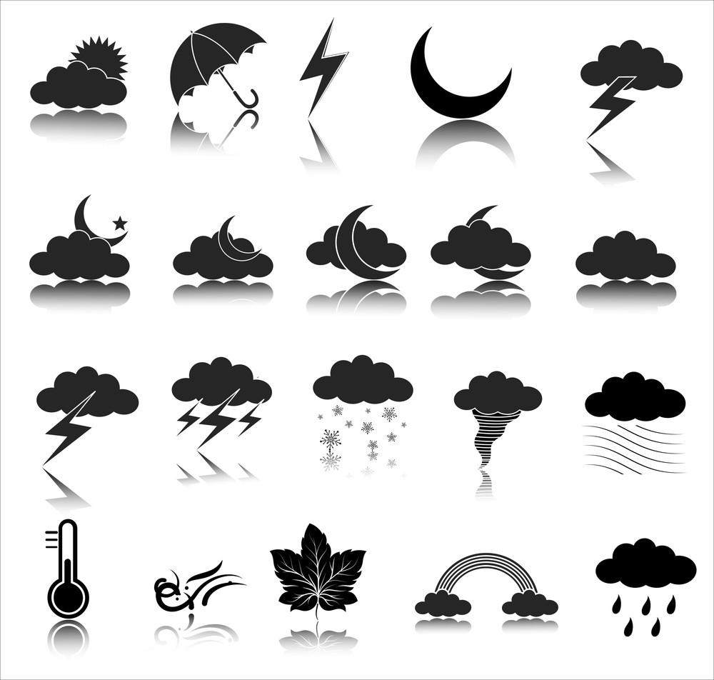 天氣圖標矢量