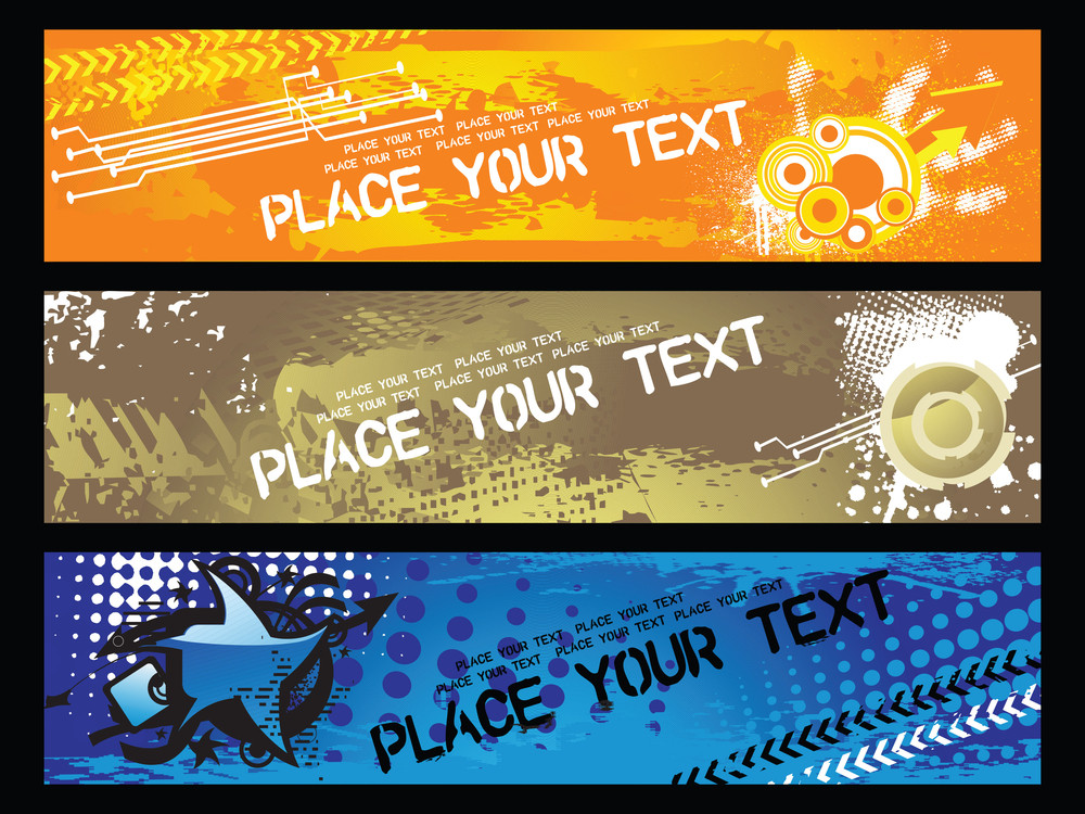 Web 2.0 Banners Series Set16