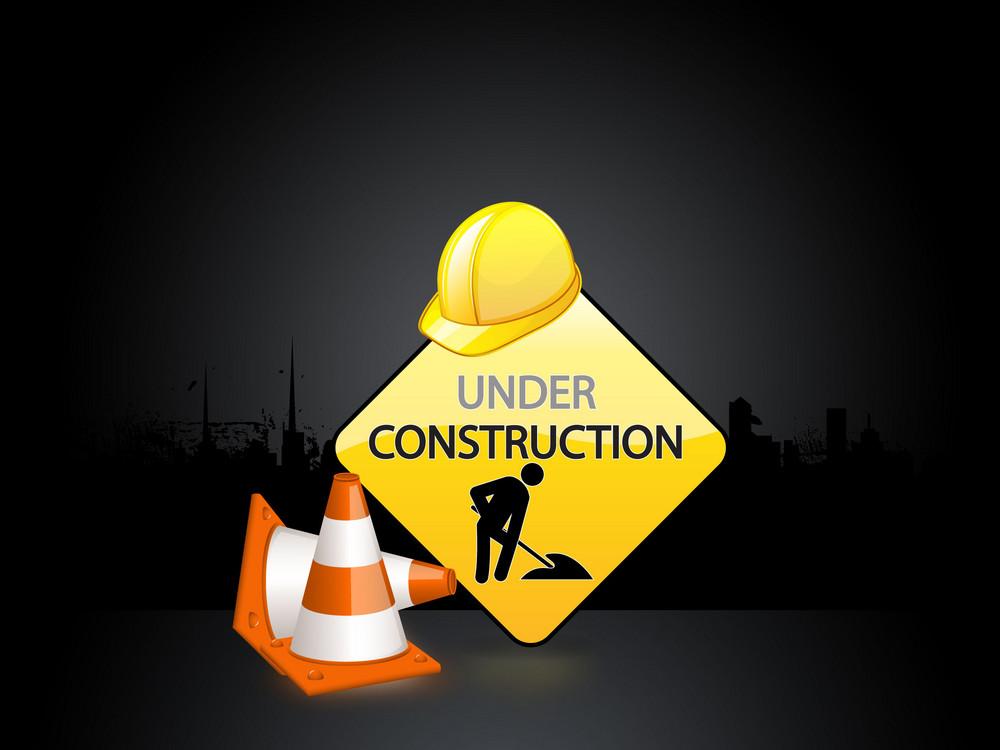 Web Construction Banner